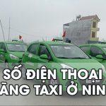 Taxi Ninh Bình: Danh bạ số điện thoại các hãng taxi ở Ninh Bình