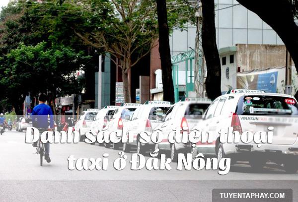 Taxi Đắk Nông: Danh bạ số điện thoại các hãng taxi ở Đắk Nông