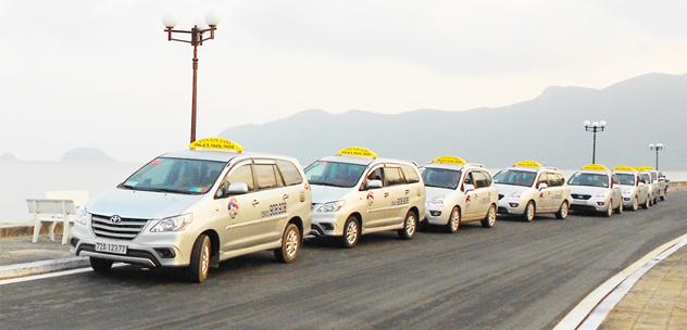 Phương tiện di chuyển từ sân bay Côn Sơn về thị trấn Côn Đảo