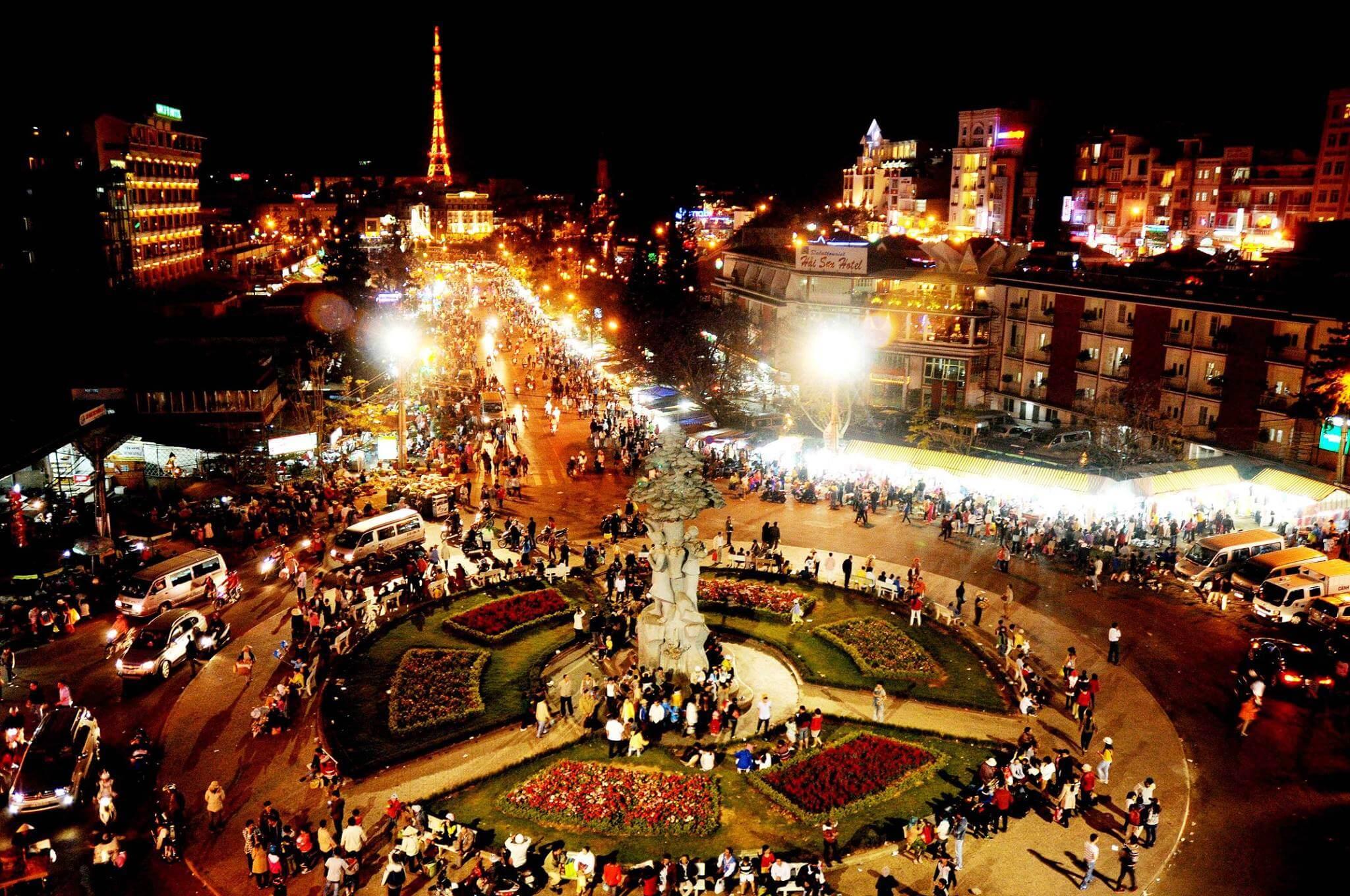 Chợ Đà Lạt & Chợ đêm Đà Lạt | Taxi sân bay rẻ