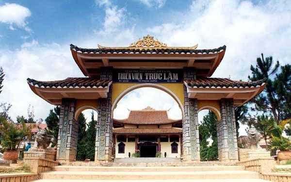 Thiền Viện Trúc Lâm Đà Lạt- hinh 1