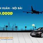 Taxi sân bay Nội Bài – Thanh Xuân giá rẻ trọn gói chỉ từ 150.000đ