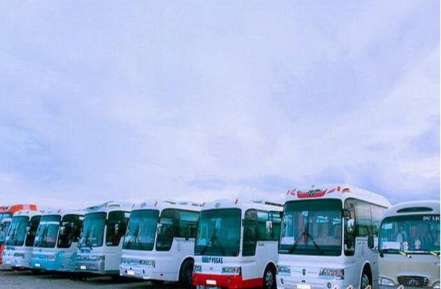 xe buýt Phương triện di chuyển từ sân bay Liên Khương về trung tâm Đà Lạt
