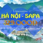 Xe HÀ NỘI – SAPA – LIMOUSINE chất lượng cao giá chỉ 329.000đ