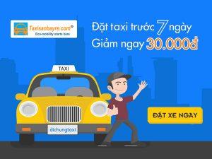 đặt trước taxi sân bay
