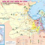 Bản đồ các địa điểm du lịch Đà Nẵng