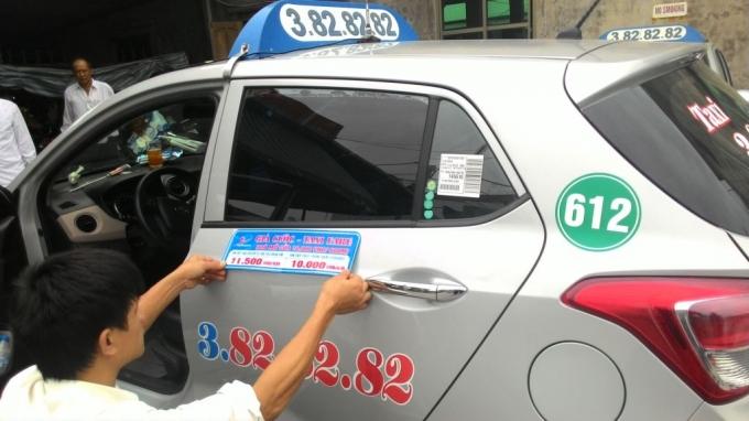Bảng giá cước taxi Thành Phố Hồ Chí Minh cập nhật mới nhất