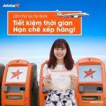 Hướng dẫn làm thủ tục vé Jetstar tại kiosk