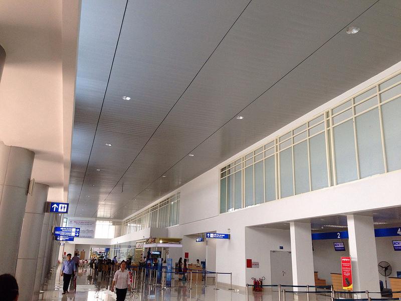 Sảnh chính sân bay Phú Bài
