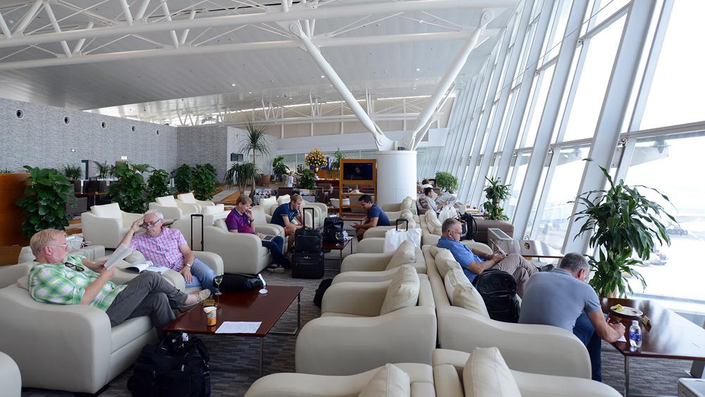Phòng chờ nhà ga T2 sân bay quốc tế Nội Bài