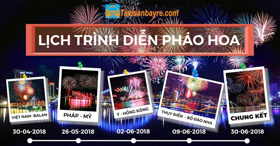 Thông tin lễ hội pháo hoa Đà Nẵng 2018 chi tiết nhất