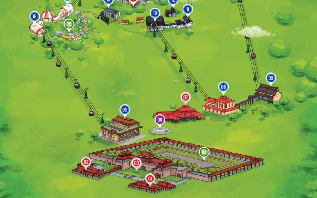 Bản đồ du lịch Bà Nà Hills Đà Nẵng