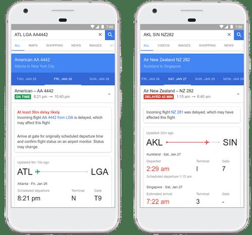 Google Flights đưa ra dự báo nếu chuyến bay bị trễ - hinh 1