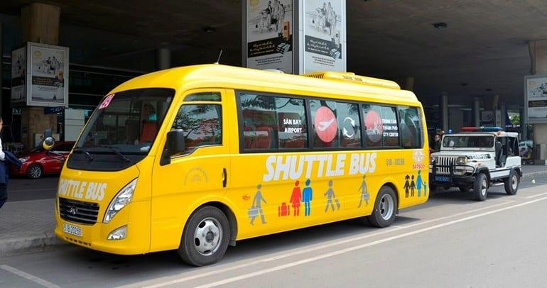 Tuyến xe buýt tại sân bay Tân Sơn Nhất - hinh 1