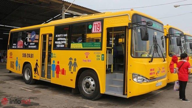Tuyến xe buýt tại sân bay Tân Sơn Nhất - hinh 2
