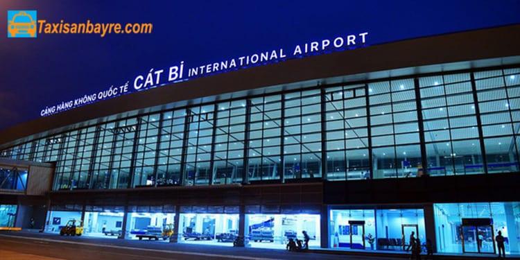 Gửi xe ở sân bay Cát Bi