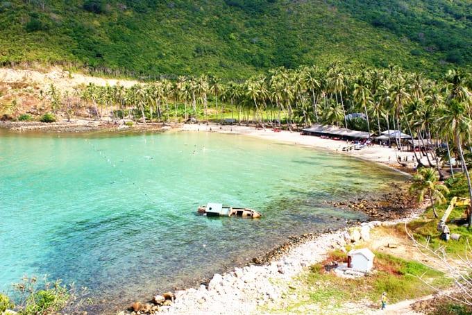 bãi biển cực thơ mọng của đảo Nam Du