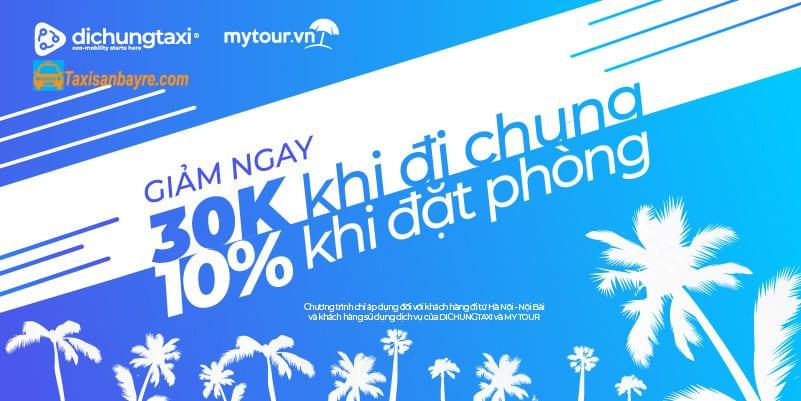 Mã giảm giá Mytour danh cho Đi Chung Taxi