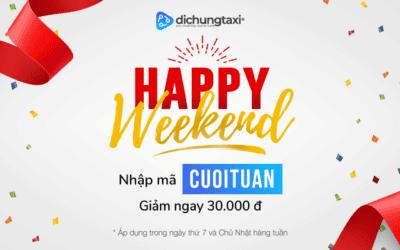 Phấn khích cùng chương trình Happy Weekend của Di Chung Taxi
