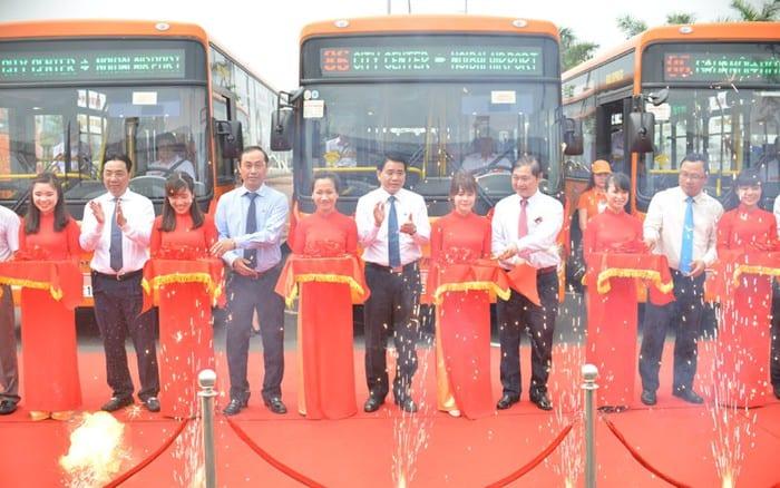 Lễ khai trương tuyến xe buýt chất lượng cao số 86