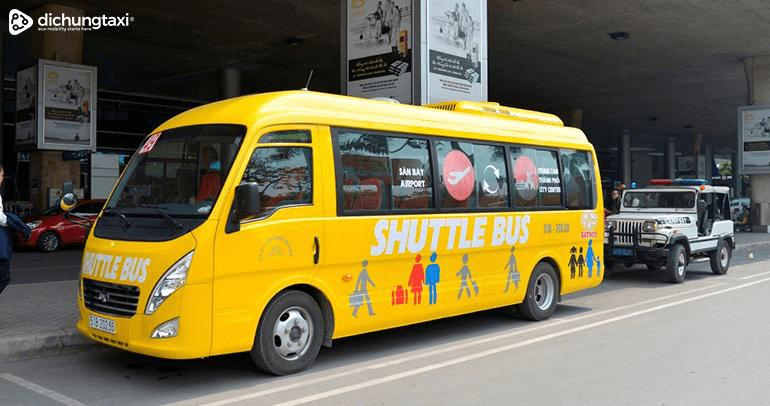 Xe bus sân bay từ Đà Lạt đến sân bay Liên Khương