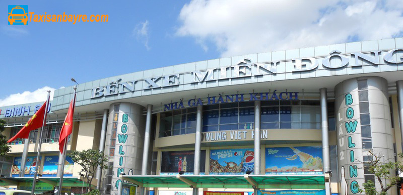 Phương triện di chuyển sân bay Tân Sơn Nhất đi bến xe Miền Đông