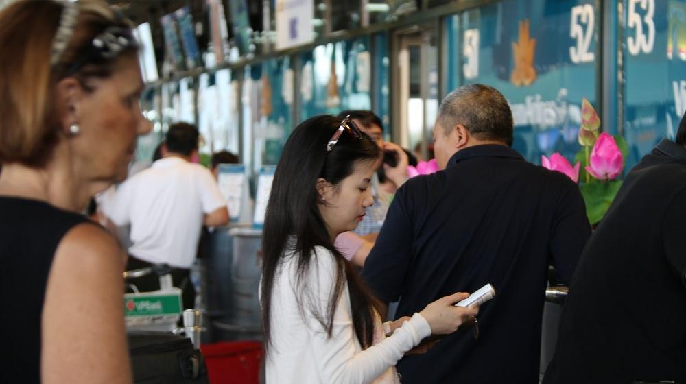 Hành khách quốc nội đi - Sân bay Nội Bài - hinh 2