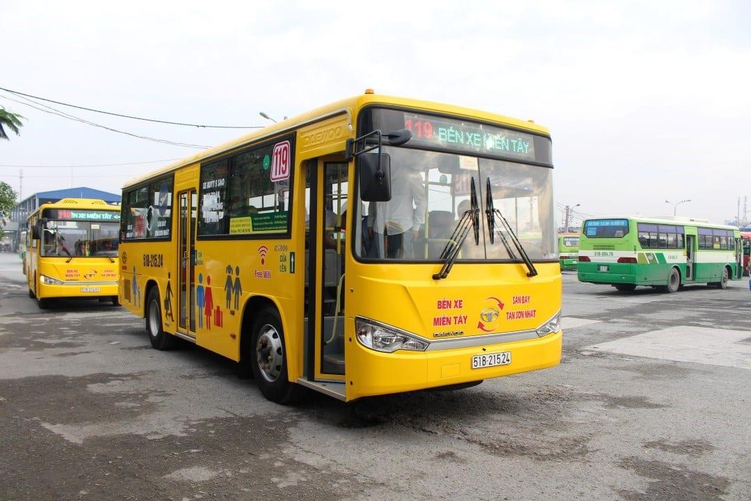Xe buýt 119: Sân bay Tân Sơn Nhất đi Bến xe miền Tây - hinh 3