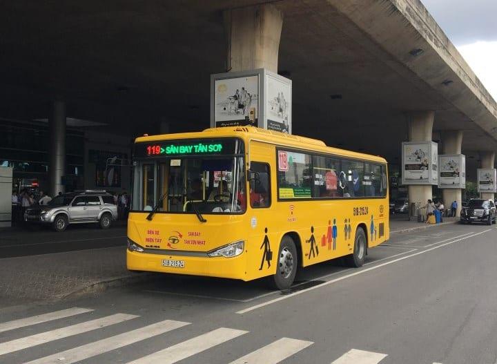 Xe buýt 119: Sân bay Tân Sơn Nhất đi Bến xe miền Tây - hinh 4