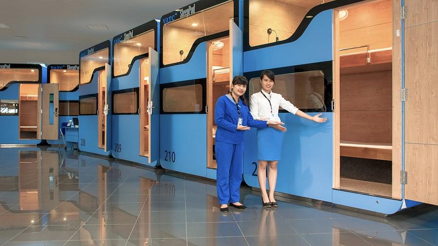 Dịch vụ hộp ngủ ở sân bay Nội Bài