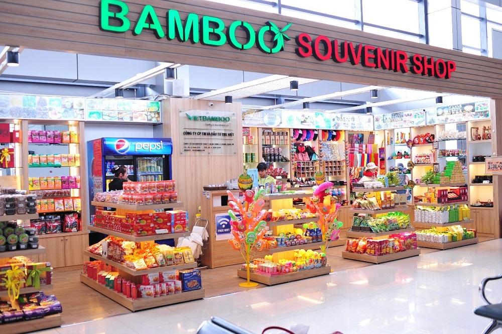 Dịch vụ bán hàng bách hóa, quà tặng tại sân bay Nội Bài