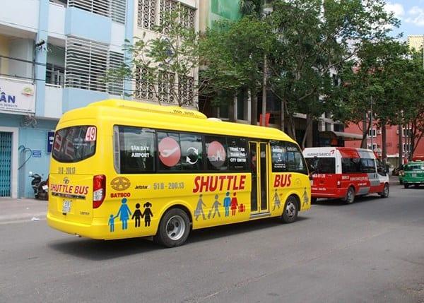 Xe buýt 49: Sân bay Tân Sơn Nhất - Trung tâm thành phố - hinh 1