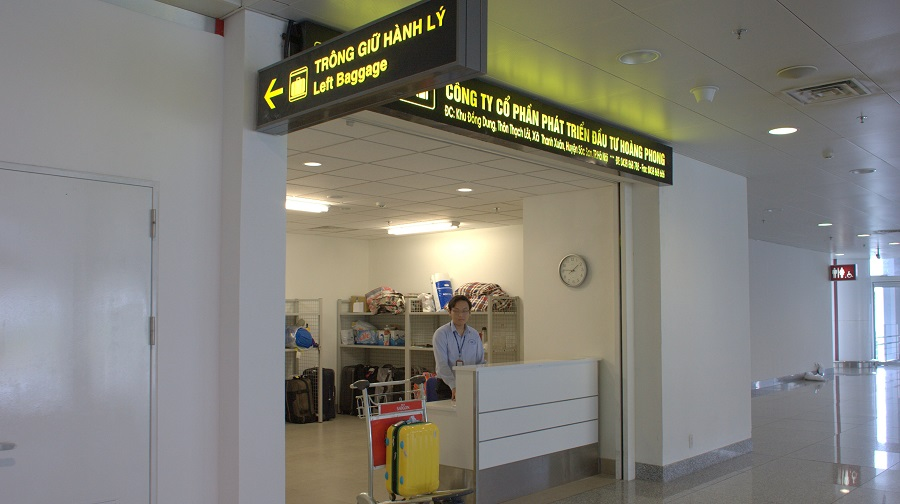Dịch vụ trông giữ hành lý sân bay Nội Bài
