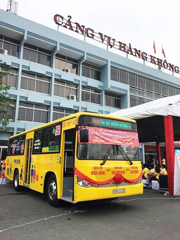 Xe buýt 159: Bến xe Miền Đông - Sân bay - Bến xe An Sương - hinh 2