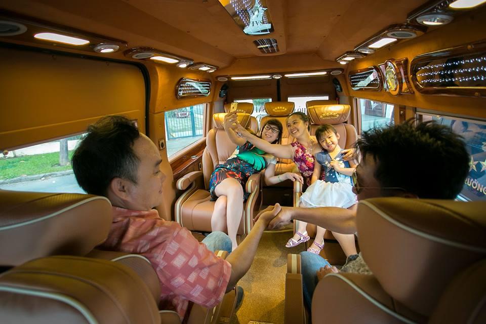 Nội thất Xe Limousine VIP - hinh 3