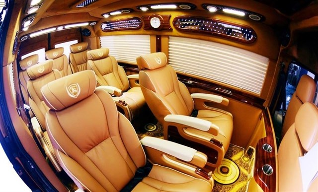 Nội thất Xe Limousine VIP - hinh 9