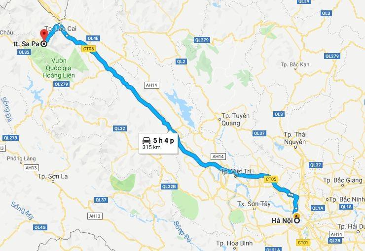 Nên đi phương tiện gì khi đi du lịch đến SAPA - hinh 1