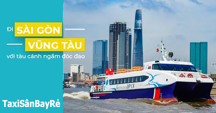 Tàu cánh ngầm Sài Gòn đi Vũng Tàu