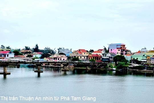 thị tấn thuận an, phú vang, Thừa Thiên Huế
