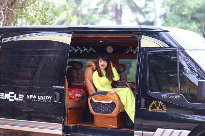 Xe limousine Hà Nội - Sapa của New Enjoy