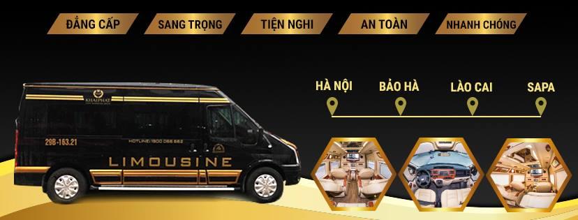 Xe limousine đi Sapa Khai Phát
