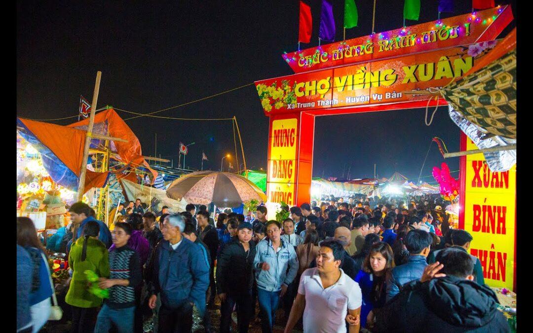 Giá thuê xe đi lễ hội chợ Viềng – Nam Định