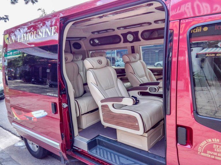 Xe limousine an lộc đi Vũng Tàu